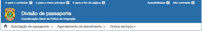 Esta imagem ilustra o post sobre agendar passaporte brasileiro.
