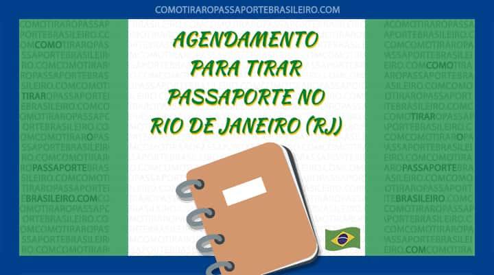 A imagem ilustra o post sobre o agendamento para tirar passaporte no RJ