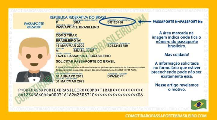 Onde Fica O Numero Do Passaporte Brasileiro Veja Aqui