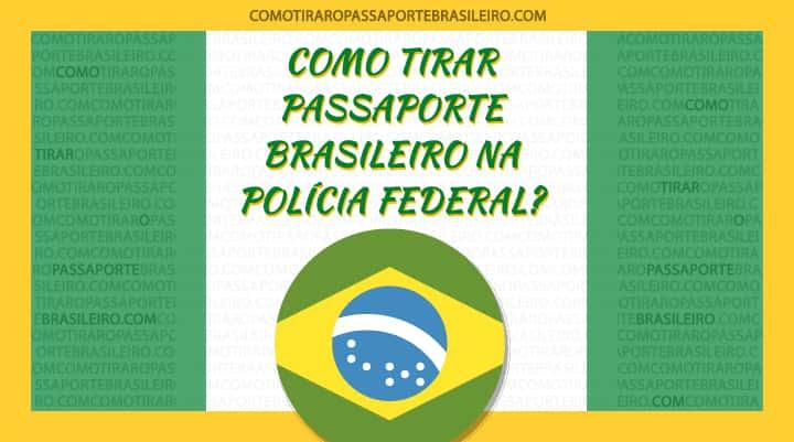 A imagem ilustra o post sobre o tirar passaporte na Polícia Federal