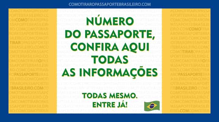 Numero Do Passaporte Brasileiro Tudo Sobre Confira